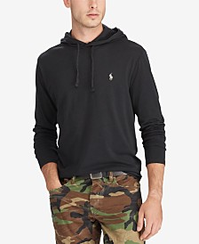 Polo Ralph Lauren Men's Big & Tall Hooded Long Sleeve T-Shirt