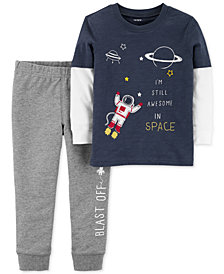 Carter's Baby Boys 2-Pc. Space Cotton Set