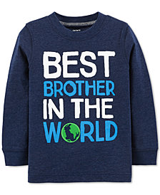Carter's Baby Boys Brother-Print T-Shirt