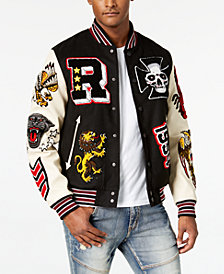 Reason Men's Street Veteran Varsity Jacket