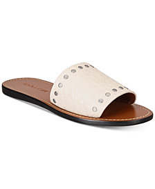 COACH Slide with Rivets Sandals