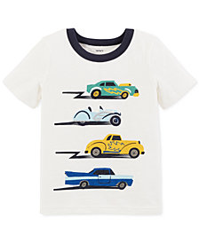 Carter's Toddler Boys Car-Print Cotton T-Shirt