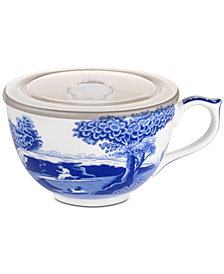 Spode Blue Italian Jumbo Cup with Lid
