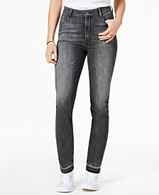 M1858 Audrey High-Rise Slim Straight-Leg Jeans, Created for Macy's