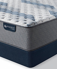 "iComfort by Serta Blue Fusion 500 14""  Hybrid Extra Firm Mattress Set - Queen Split"