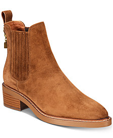 COACH Bowery Chelsea Ankle Booties
