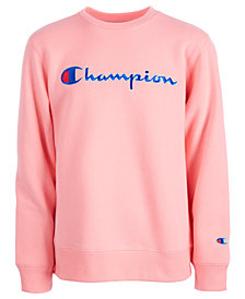 Champion Big Girls Heritage Logo Sweatshirt
