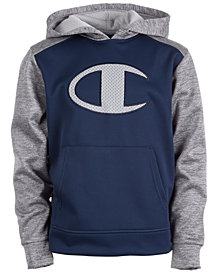 Champion Little Boys Logo Hoodie