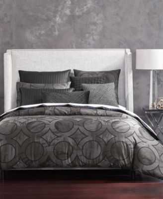 Marble Geo Quilted European Sham, Created for Macy's