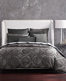 Hotel Collection Marble Geo Comforters, Created for Macy's