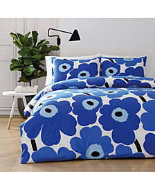Marimekko Unikko Cotton 2-Pc. Twin Duvet Cover Set