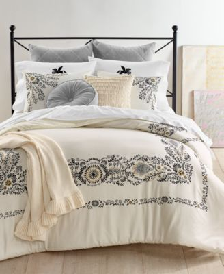 CLOSEOUT! Paisley 2-Pc. Twin Comforter Set, Created for Macy's