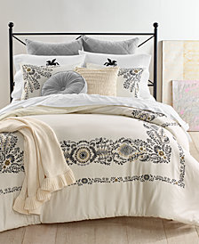 Whim by Martha Stewart Collection Paisley 3-Pc. King Comforter Set, Created for Macy's