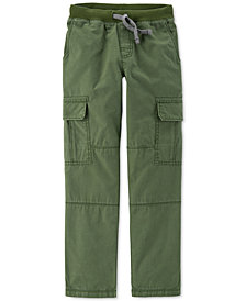 Carter's Little & Big Boys Reinforced-Knee Cargo Pants
