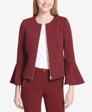 BELL-SLEEVE JACKET