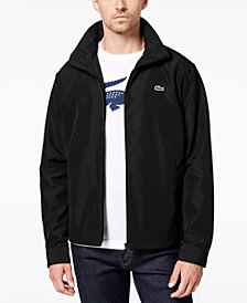 Lacoste Men's Zip-Front Windbreaker