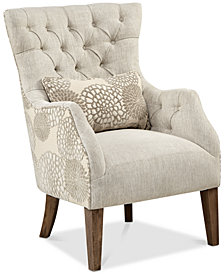 Braun Accent Chair, Quick Ship