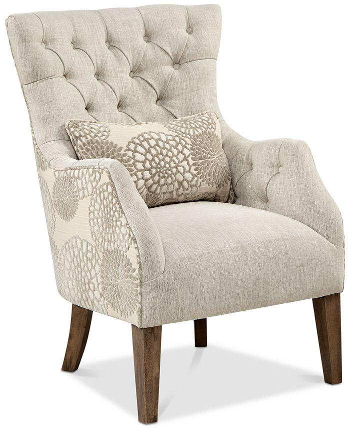 Furniture - Braun Accent Chair, Quick Ship