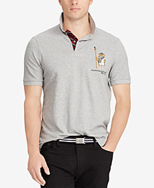 Polo Ralph Lauren Men's Big & Tall Classic Fit Polo Bear Cotton Polo