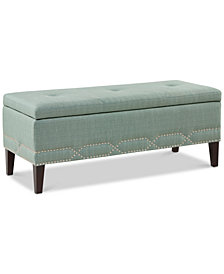 Alyce Storage Bench, Quick Ship