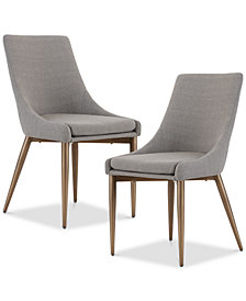 Layla Dining Side Chair (Set of 2), Quick Ship