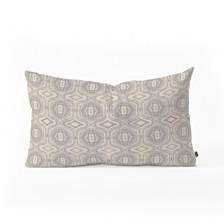 Deny Designs Holli Zollinger Anthology of Pattern Seville Grey Oblong Throw Pillow