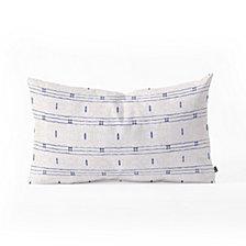 Deny Designs Holli Zollinger FRENCH  STRIPE Oblong Throw Pillow