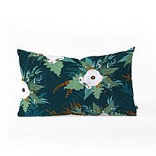 Deny Designs Iveta Abolina Isabella Garden Oblong Throw Pillow