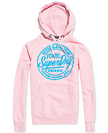 Superdry Men's World Wide Ticket Type Hoodie