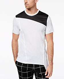 I.N.C. Men's Colorblocked Mesh T-Shirt, Created for Macy's