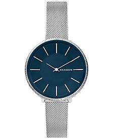 Women's Karolina Stainless Steel Mesh Bracelet Watch 38mm
