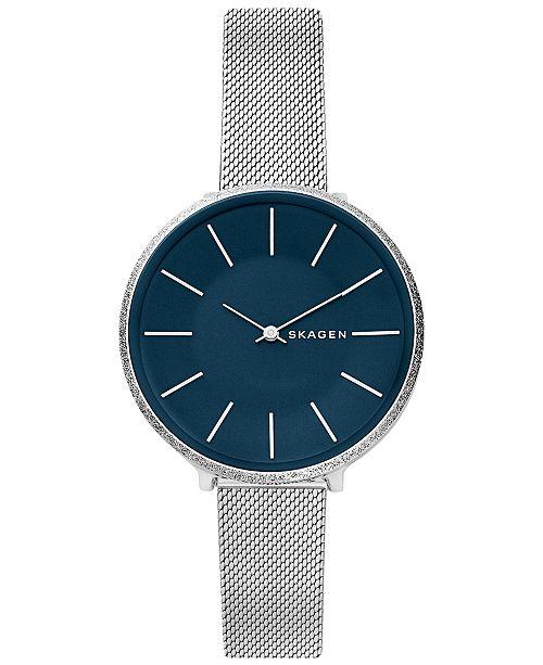 Skagen Women's Karolina Stainless Steel Mesh Bracelet Watch 38mm