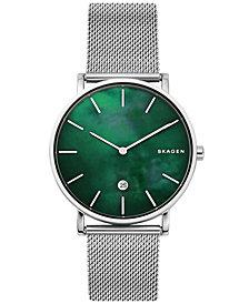 Skagen Men's Hagen Slim Stainless Steel Mesh Bracelet Watch 40mm