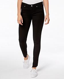 Sarah Raw-Hem Ankle Skinny Jeans