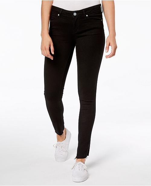 Articles of Society Sarah Raw-Hem Ankle Skinny Jeans