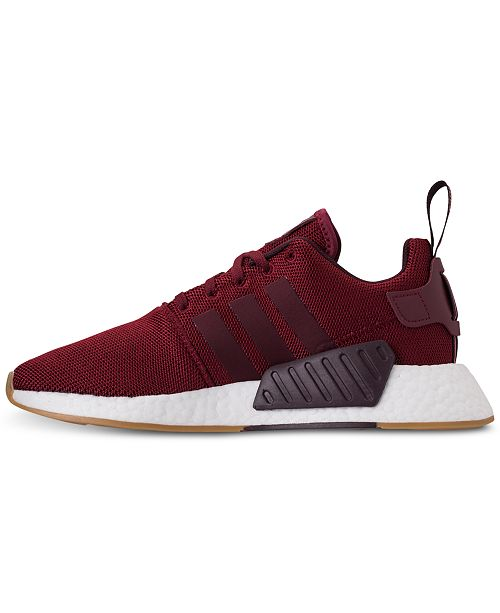 8080fefaea3f3 adidas Men s NMD R2 Casual Sneakers from Finish Line   Reviews ...