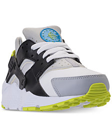 Nike Big Boys' Huarache Run Running Sneakers from Finish Line