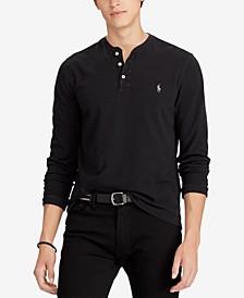 Men's Featherweight Cotton Henley Shirt