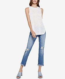 BCBGeneration Tulip Side Tank Top