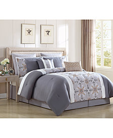 Faro 8-Pc. King Comforter Set