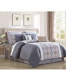 Faro 8-Pc. Queen Comforter Set