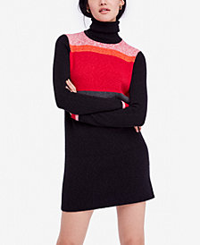 Free People Winter Break Turtleneck Sweater Dress