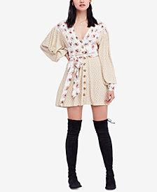 Free People Wonderland Printed Mini Dress