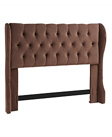 Yorkshire Wing Headboard, King/California King, Chocolate