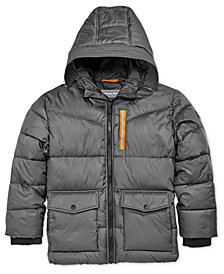MICHAEL Michael Kors Big Boys Hooded Puffer Jacket