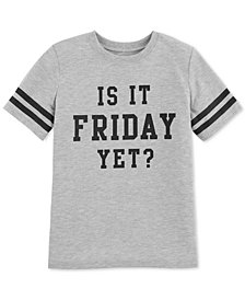 Carter's Big Girls Friday-Print Pajama T-Shirt