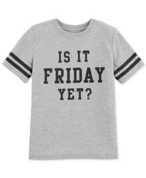 Carters Big Girls FridayPrint Pajama TShirt