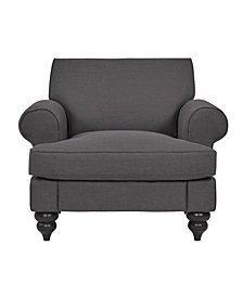 Sofas 2 Go Victoria Chair Charcoal