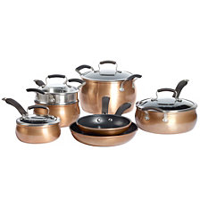 Epicurious 11-Pc. Aluminum Cookware Set