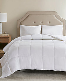 Sleep Philosophy 300 Thread Count Twin Cotton Cover Tencel Filled Down Alternative Comforter with Antimicrobial Purista Odor Eliminator